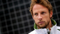 Button wants calm amid rumours of Brawn discord