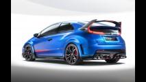 Honda revela Civic Type R Concept II com mais de 280 cavalos