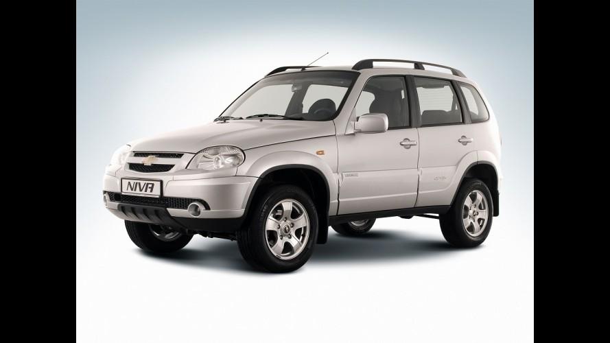 Chevrolet apresentará nova geração do Niva no Salão de Moscou