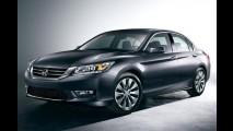 Honda Accord 2013 é revelado oficialmente