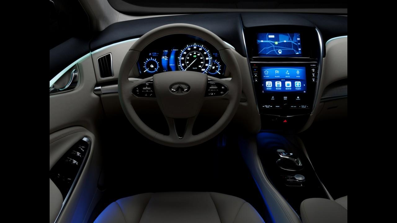 Infiniti desenvolve versão própria do Nissan Leaf