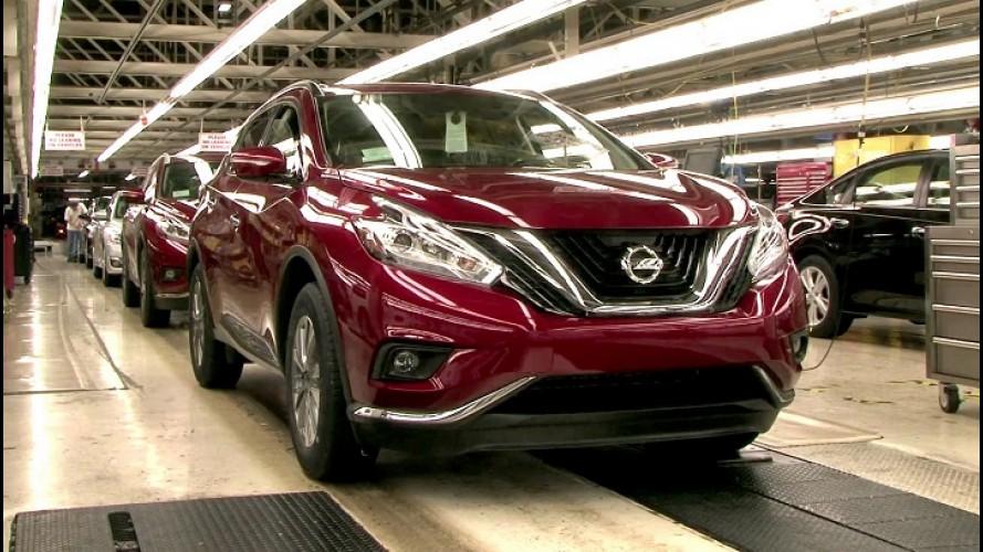 Novo Nissan Murano começa a ser produzido nos Estados Unidos