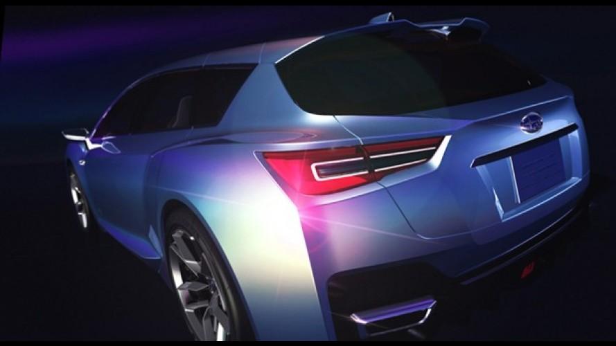 Subaru revela o híbrido Advanced Tourer Concept