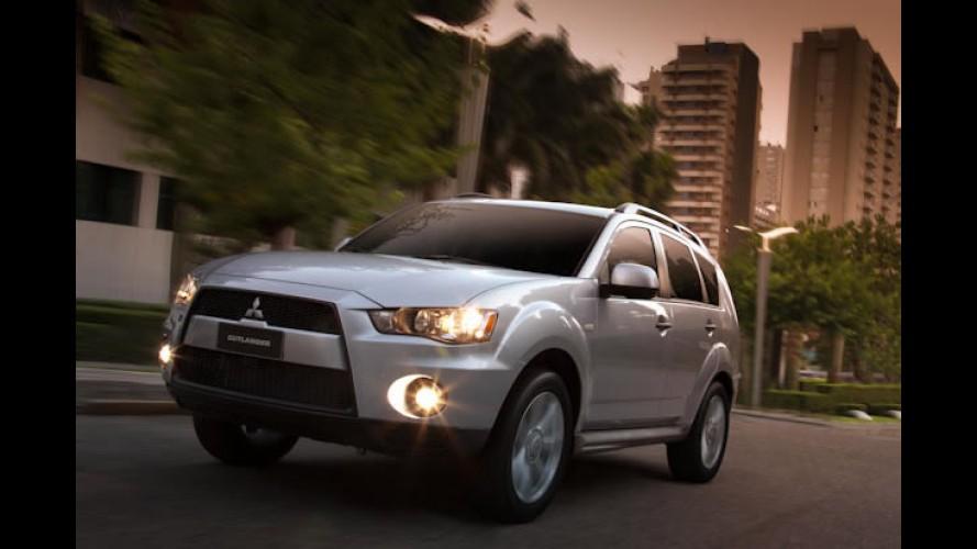 Mitsubishi anuncia nova versão Outlander 2.0 e novidades no Outlander GT 2012