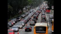 São Paulo: rodízio será suspenso por 18 dias, a partir do próximo dia 26