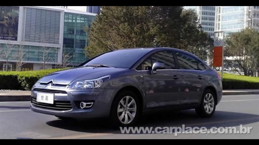 Fotos do novo Citroën C-Quattre surgem na China - Modelo é versão mais curta do sedan