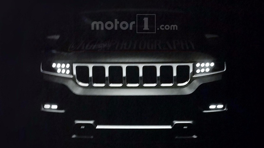 2019 Jeep Grand Wagoneer spy photos