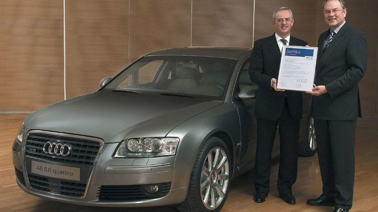 Audi A8 receives Allianz Research award