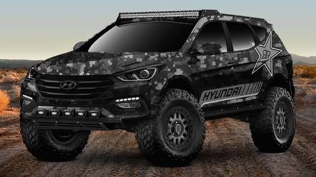 Hyundai Previews Extreme Santa Fe Sport Concept For SEMA