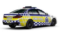 BMW 530d for Victoria Police in Australia