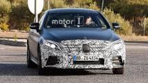 Makyalı Mercedes-AMG C43 ve C63 casus fotoğrafları