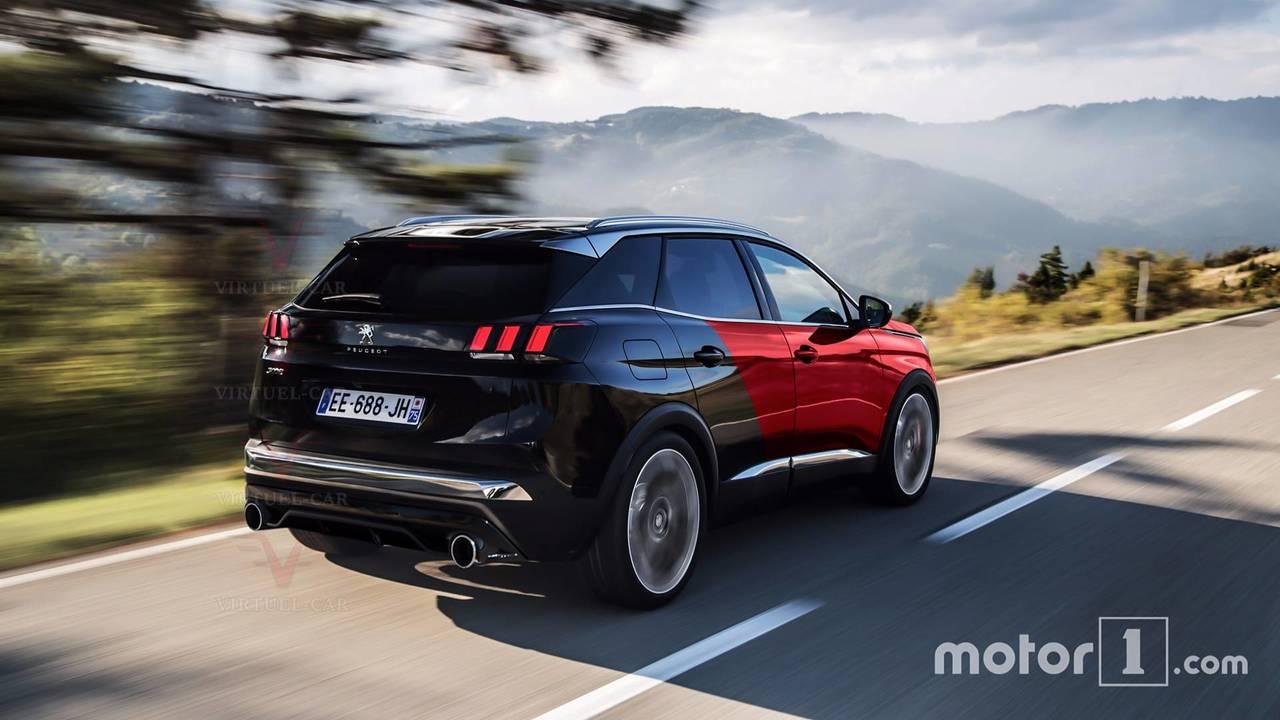 Peugeot 3008 renderings