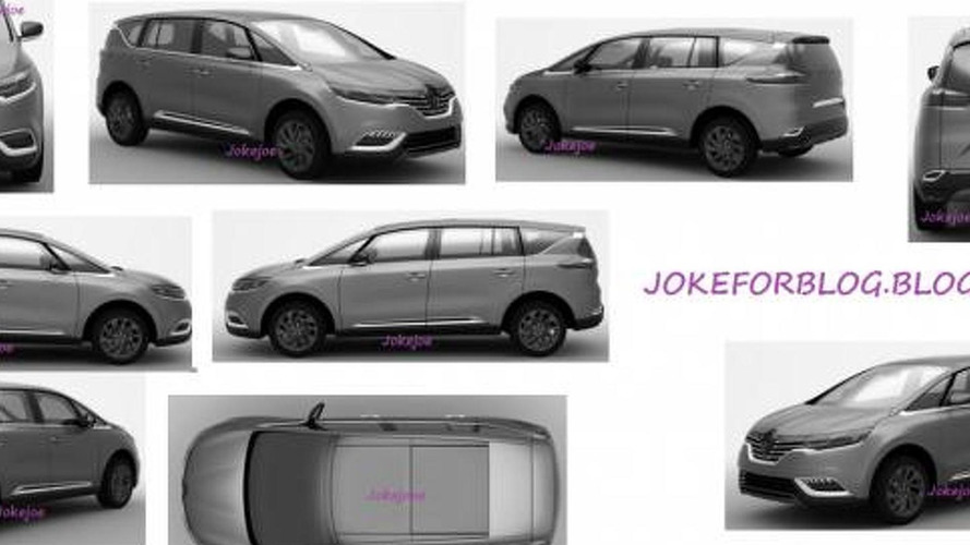 2014 Renault Espace leaked through patent sketches