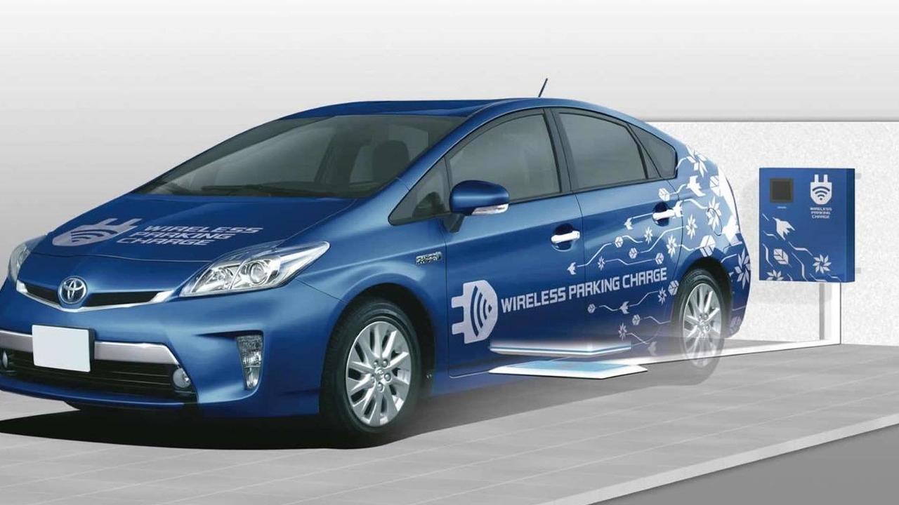 Toyota wireless charging technology