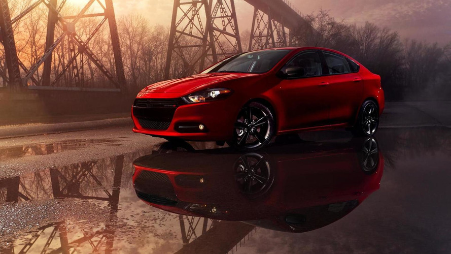 2014 Dodge Dart Blacktop package revealed prior to NAIAS launch with glossy black accents