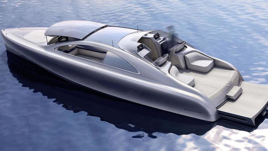 Mercedes inaugure sa Flèche d'argent des mers