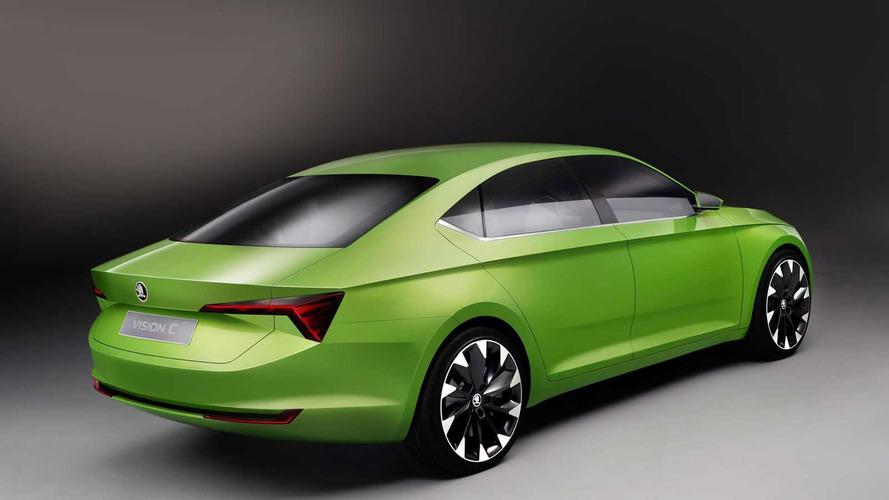 Skoda VisionC concept unveiled, previews five-door Octavia coupe