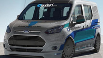 eJudged.com Ford Transit Connect for SEMA 25.10.2013
