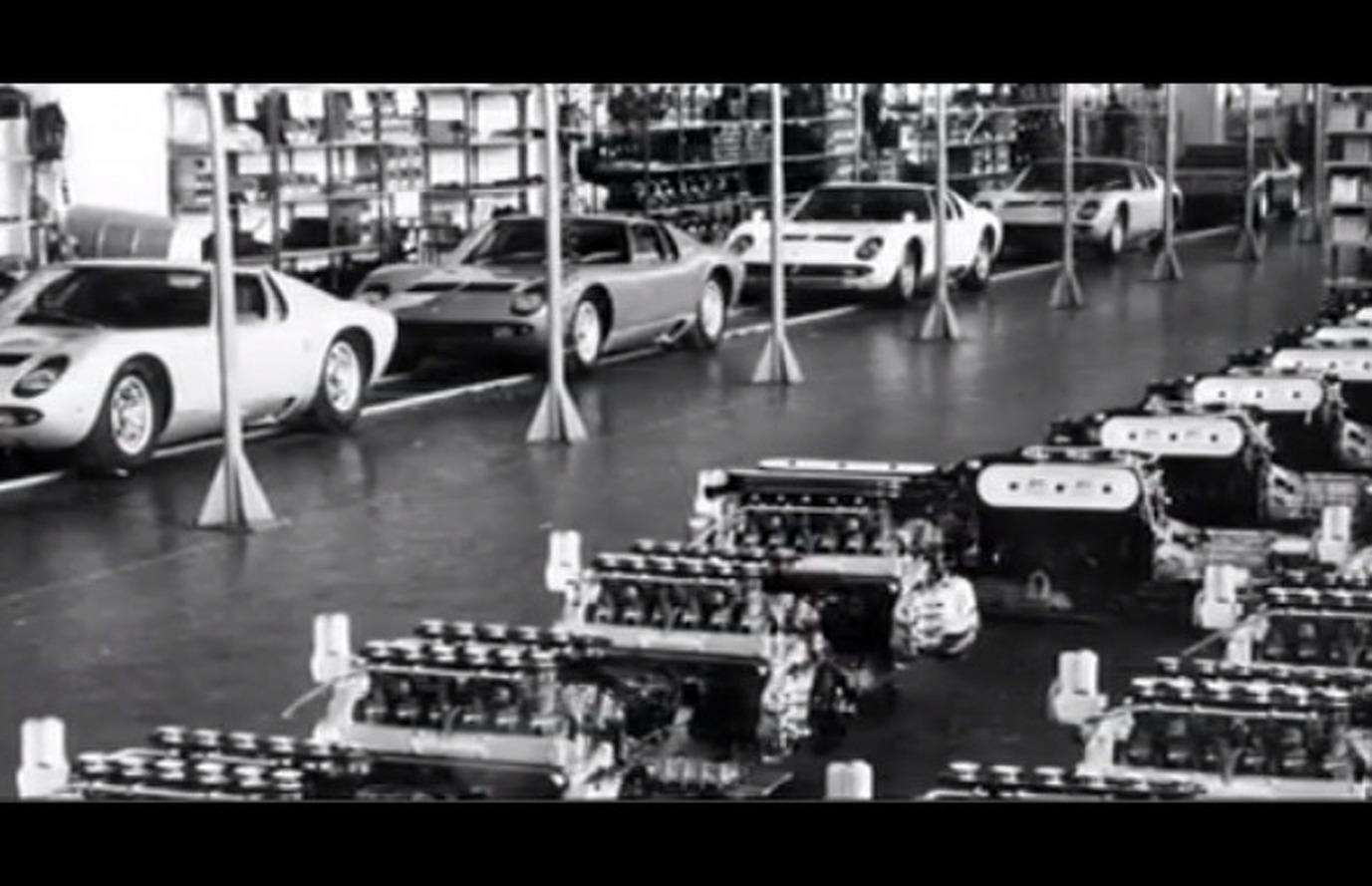 Lamborghini 50th Anniversary Celebrated in Video