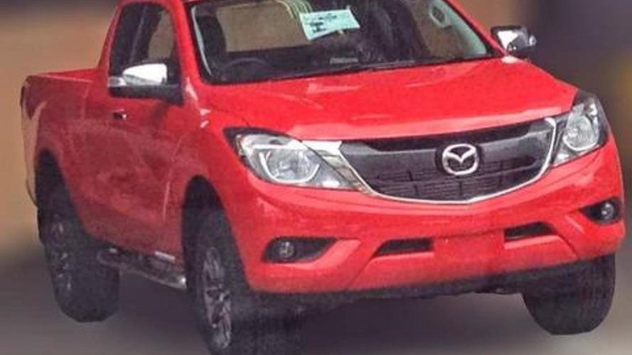 2016 Mazda BT-50 facelift spied undisguised