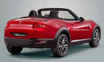 Mazda MX-5 Cross Rendering is a Freak of Nature