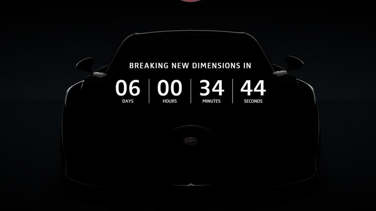 Bugatti Chiron teaser