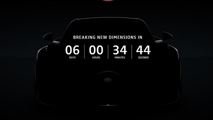 Bugatti Chiron countdown to reveal begins