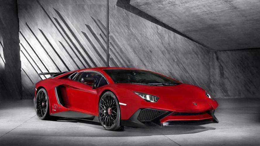 Lamborghini Aventador Superveloce Roadster announced