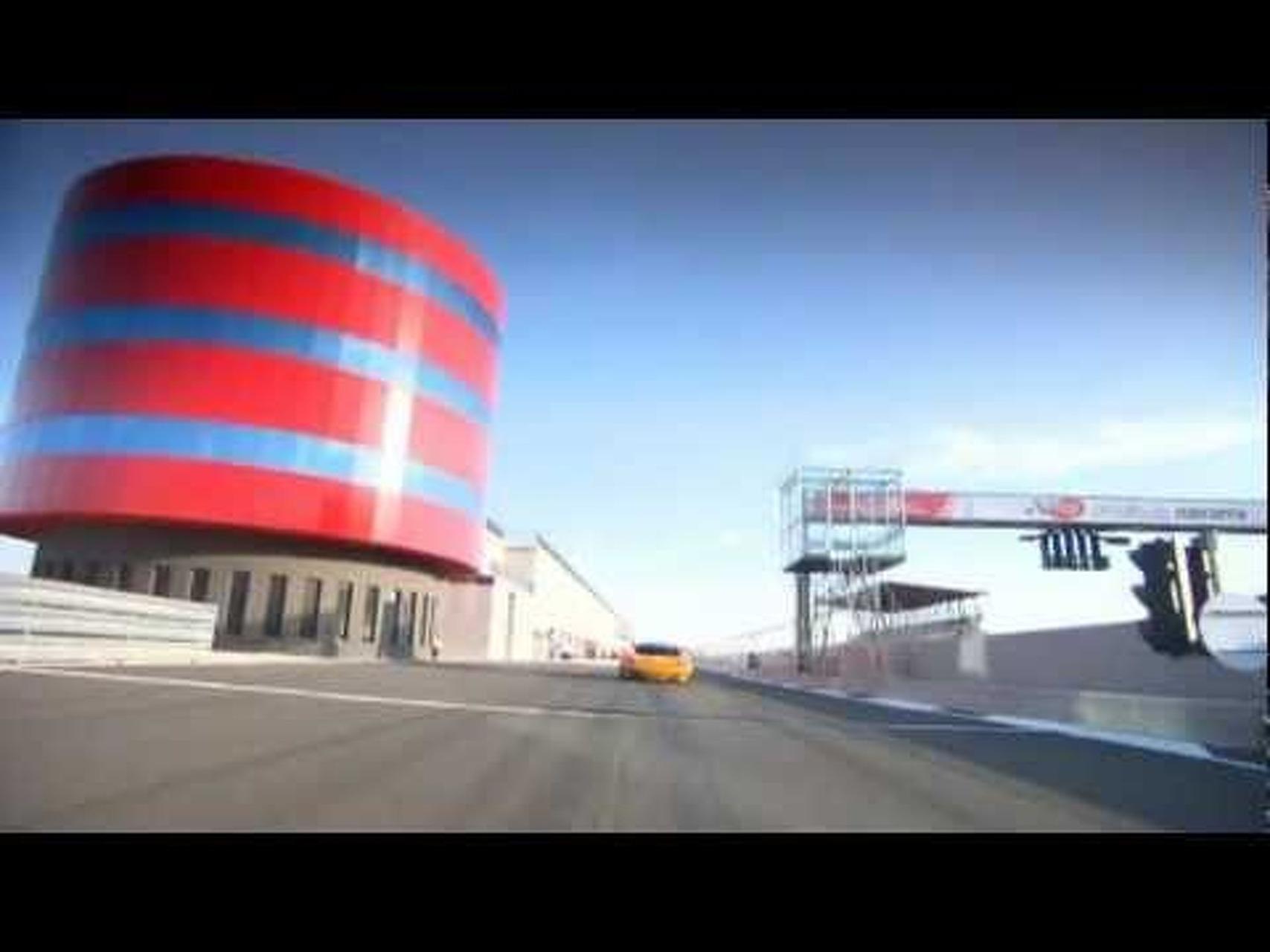 McLaren MP4-12C GT3 Tracking