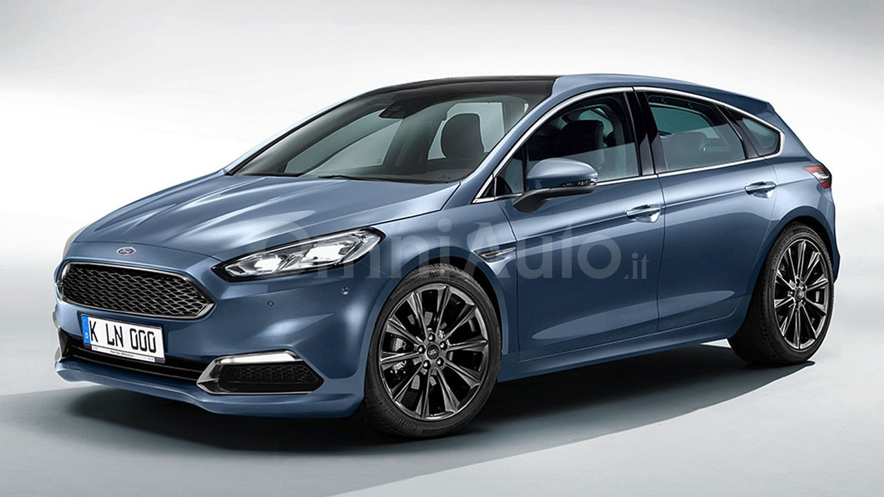 2018 Ford Focus render by OmniAuto