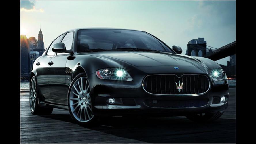 Maserati Quattroporte Sport GTS feiert in Detroit Premiere