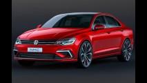 Próximo VW Jetta chega em 2017 maior e com estilo cupê