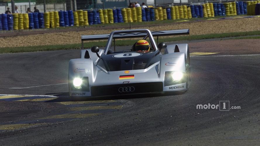 #8 Audi Sport Team Joest, Audi R8R- Frank Biela, Didier Theys, Emanuele Pirro