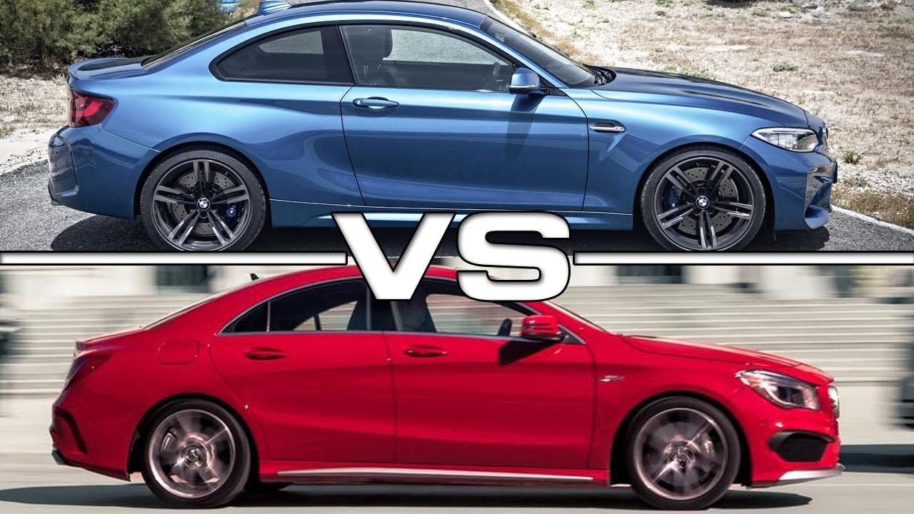 Vídeo: novo BMW M2 encara Mercedes CLA AMG na pista!