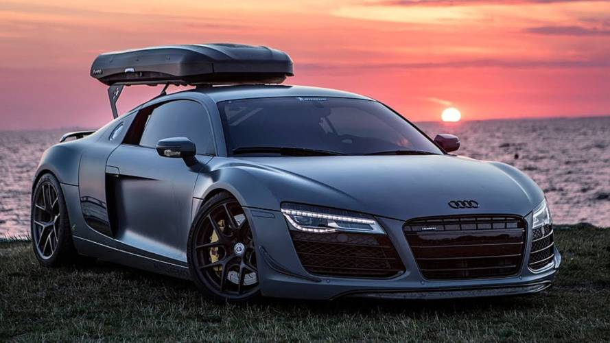 Spend 5 Minutes With The Last Audi R8 Fitted With A Manual Gearbox