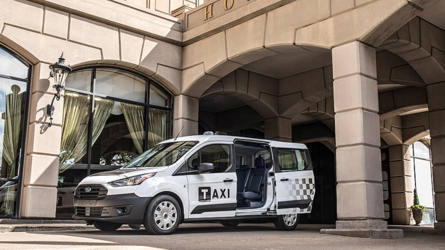 Ford Fusion And Transit Connect Taxi