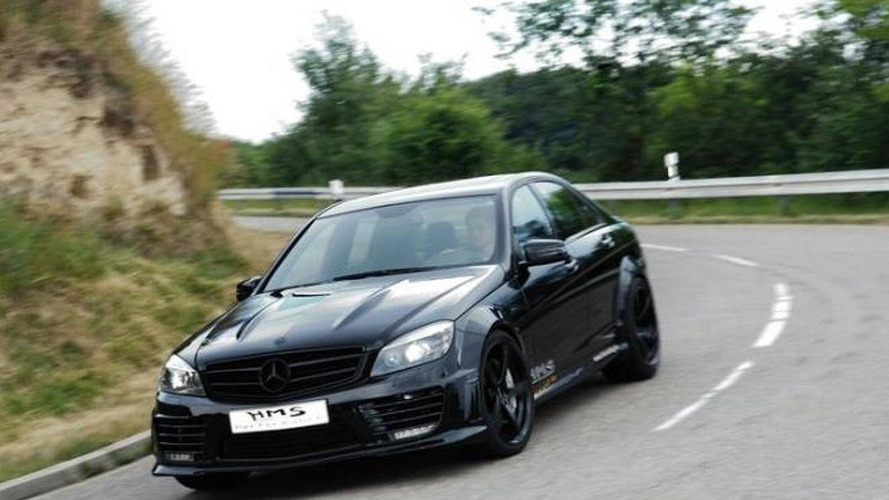 Supercharged Mercedes C63 AMG by HMS-tuning outputs 690 HP