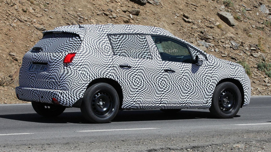 2013 Peugeot 2008 spied undergoing testing