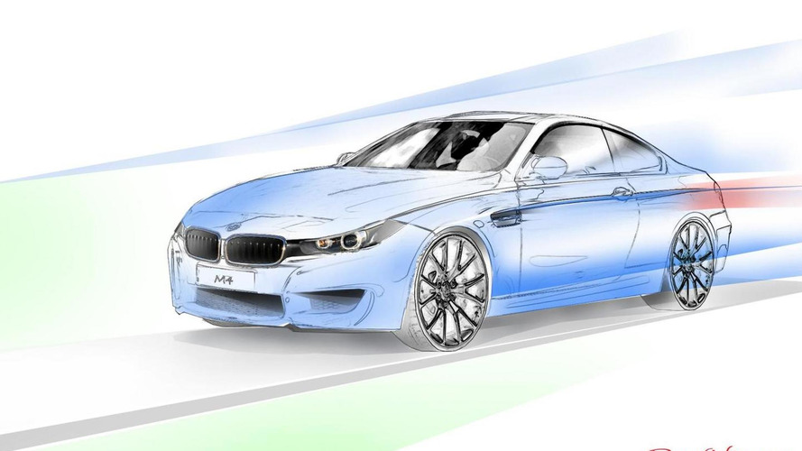 BMW M4 gets rendered