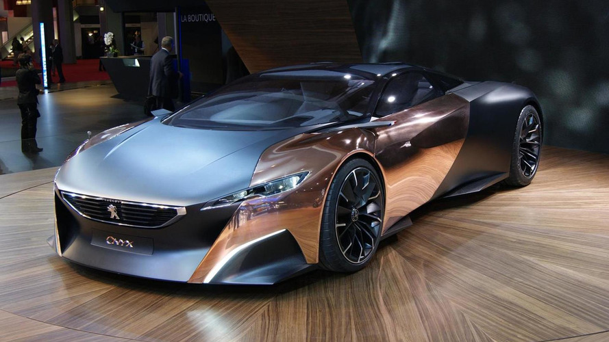 Peugeot Onyx Concept unveiled in Paris