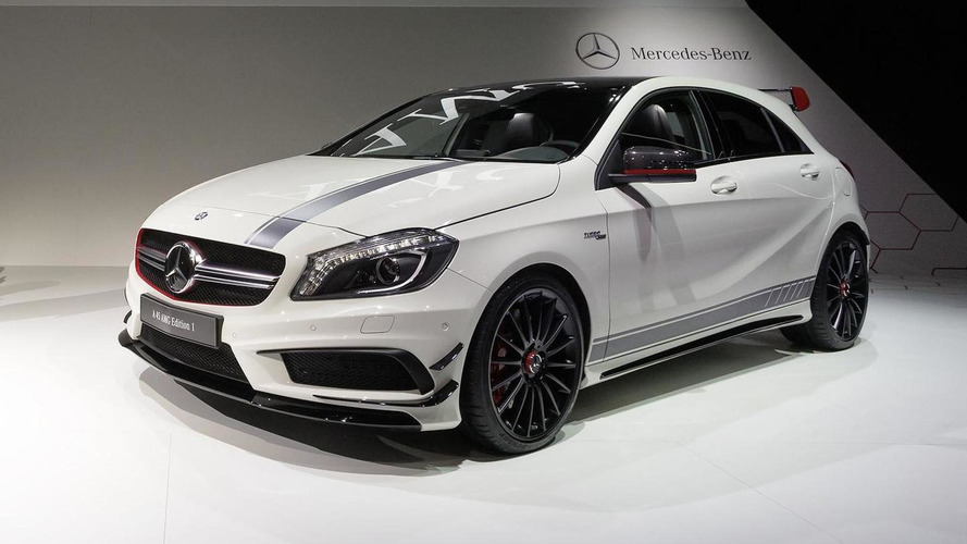 Mercedes-Benz A45 AMG debuts in Geneva [videos]