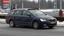 2013 Skoda Superb Combi spy photo 24.01.2013 / Automedia