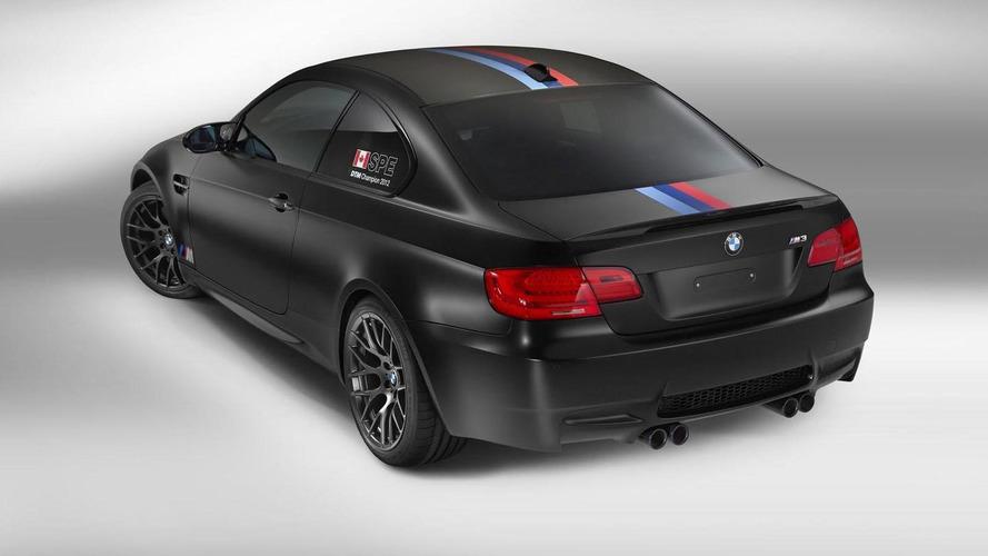 BMW M3 DTM Champion Edition announced