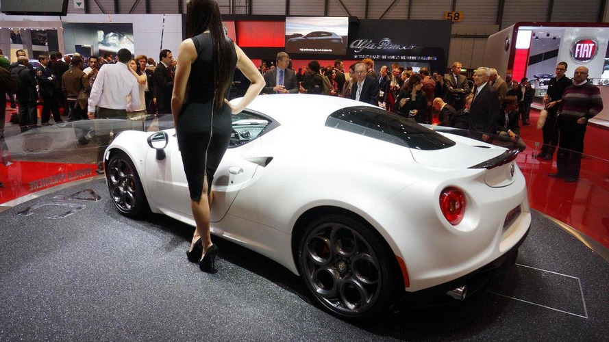 Alfa Romeo 4C Launch Edition announced in Geneva
