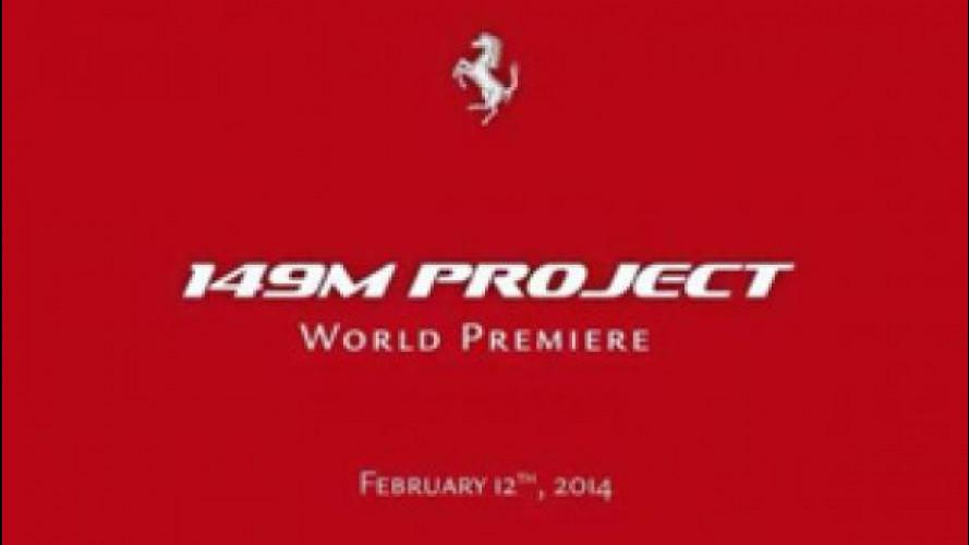 La nuova Ferrari sarà svelata in anteprima il 12 febbraio