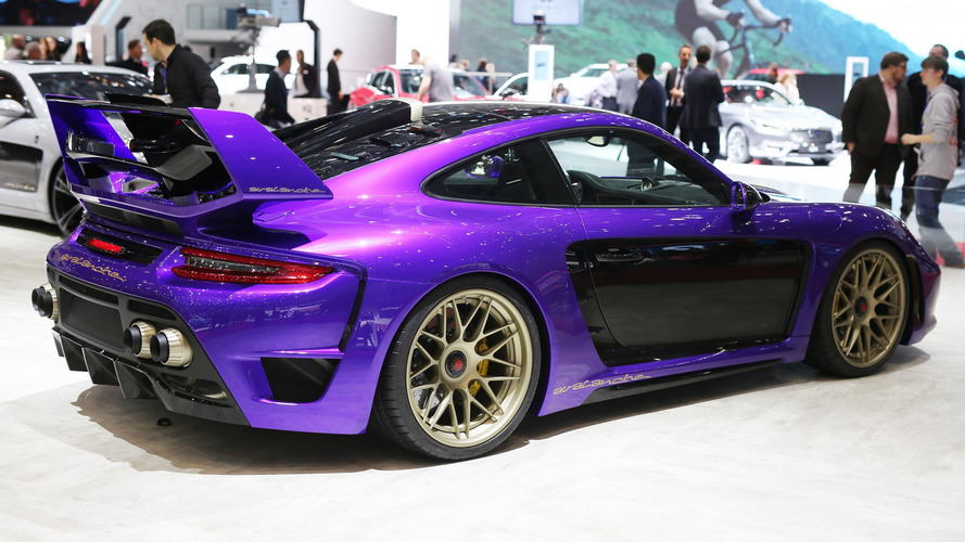 2017 Gemballa Porsche 911 Turbo has an avalanche of horsepower