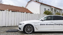 BMW 530e iPerformance – chargement par induction