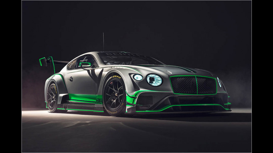 Der neue Bentley Continental GT3