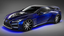 Lexus Black Panther Inspired LC Concept