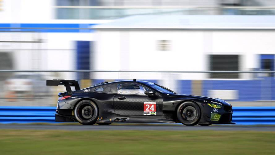 BMW M8 GTE teszt - Daytona